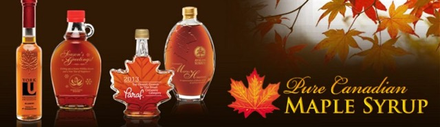 maple syrop banner